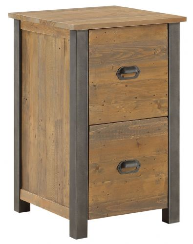 Urban Elegance Two Drawer Filing Cabinet